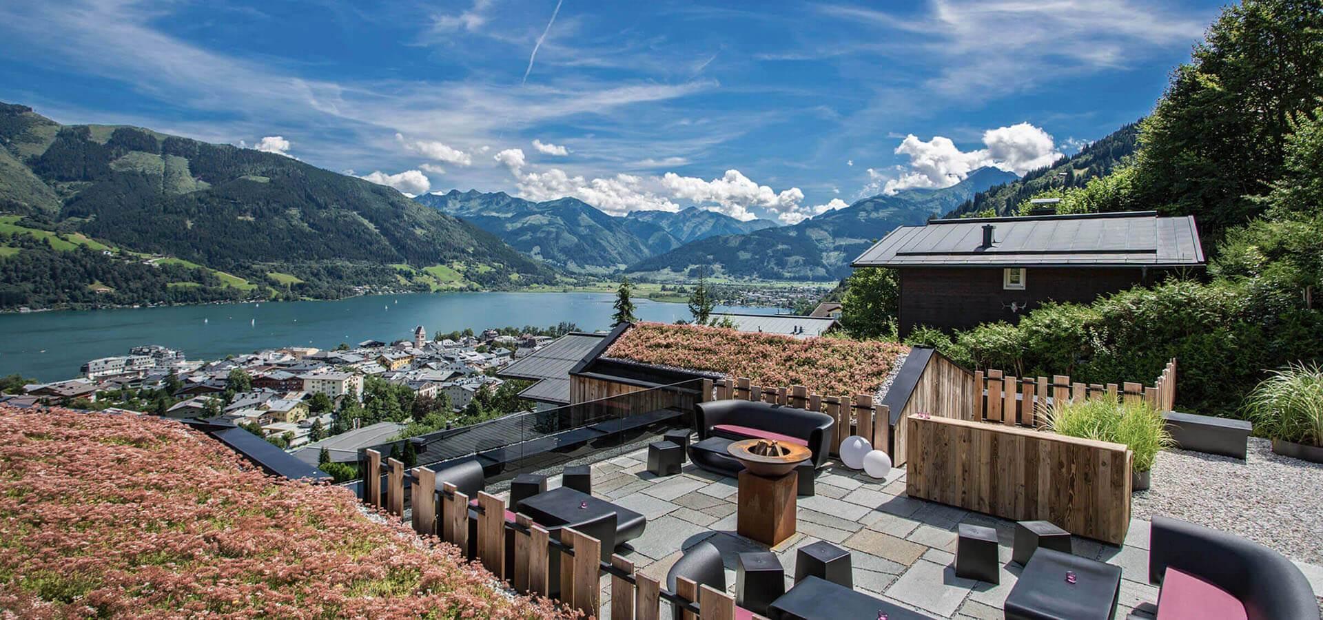 senses violett suites designhotel in den bergen von zell